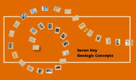 Seven Key Geologic Principles