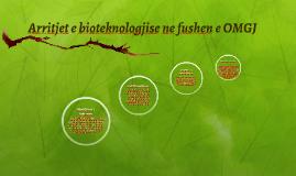Arritjet e bioteknologjise