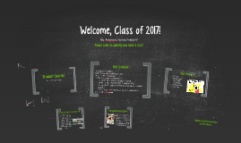 Welcome, Class of 2017!