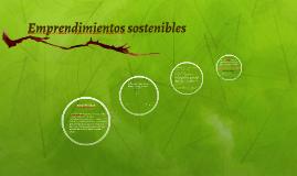 Emprendimientos sostenibles