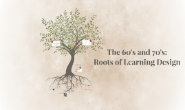 1960-1979:  Roots of Learning Design