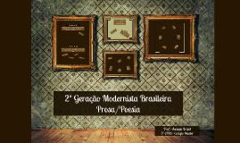 2ª Geração Modernista Brasileira