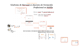 Copy of Síndrome de Burnout en docentes de Formación Profesional en