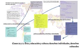 Clase 7:Libertad de expresión, pensamiento y creación frente a los valores y prácticas culturales: ética de la cultura
