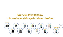 Copy of The Evolution of the Apple iPhone Timeline
