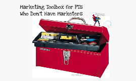 Marketing Toolbox for PTs Who Don't Have Marketers