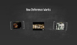 How Deference Works