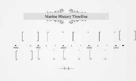 Marine History Timeline