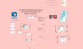 Presentacion RIES X Jornadas Investigación Educativa Universidad Nacional de Córdoba