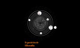 Exposición de Filsosofía