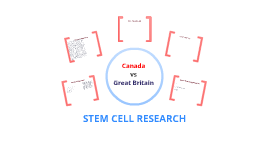Stem Cell Research: Canada vs Great Britain