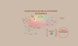 Flujo circular de la actividad economica.