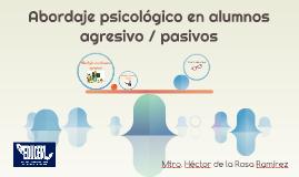 Abordaje psicológico en alumn