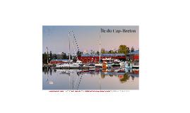 Examen Final: Île du Cap-Breton