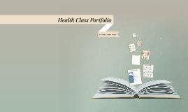 Health Class Portfolio