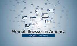 Mental Illnesses in America