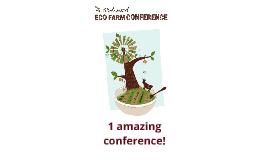 EcoFarm 2013 Countdown