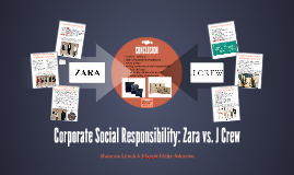 zara corporate social responsibility According to somo and repórter brasil, this legal strategy is inconsistent with zara's corporate social responsibility (csr) policy whereas inditex promises customers decent conditions under which its products are manufactured, in court, the company argues that it cannot offer any guarantees.