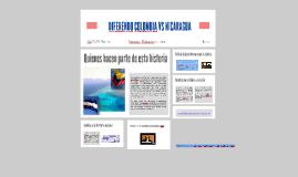 DIFERENDO COLOMBIA VS NICARAGUA