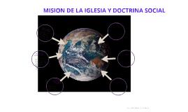 MISION DE LA IGLESIA Y DOCTRINA SOCIAL