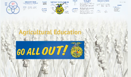 Intro to Agricultural Education