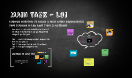 Main Task - LO1