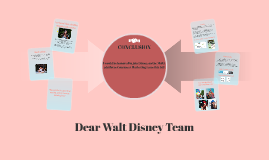 Copy of Dear Walt Disney Company