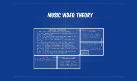 Copy of Music Video theory