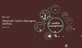 Diplomatic Tools in Managing Conflicts