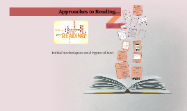 Approaches to Reading