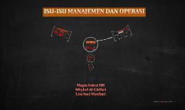 Copy of Copy of BAB 7 MENERAPKAN STRATEGI: ISU-ISU MANAJEMEN DAN OPERASI