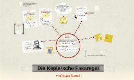 Die Keplersche Fassregel