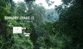 Ecology (part 1)