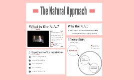 Copy of The Natural Approach