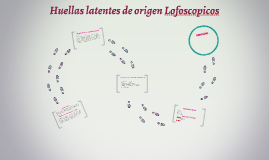Huellas latentes de origen Lofoscopicos