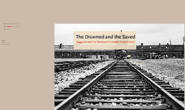 The Drowned and the Saved: Primo Levi and the Terminus of European Enlightenment