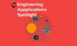 Engineering Appplictions Spotlight