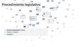 Procedimientos Legislativos