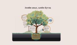 Copy of Эсийн онол, эсийн бүтэц