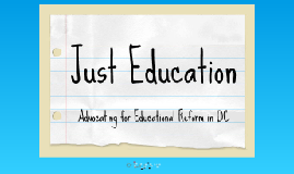 Just Education Project