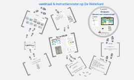 Copy of Copy of weektaak & instructierooster op De Waterkant