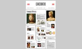 Copy of PETRARCA Y EL CANCIONERO