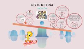 LEY 80