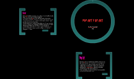 Pop Art y Op Art