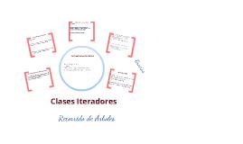 Clases Iteradores, Recorrido de Árboles