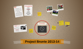 Project Bronte 2013-14