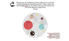 Mecanismos de cuidado de primera infancia en Costa Rica: imp