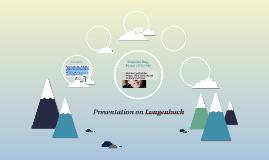 Presentation on Longenbach