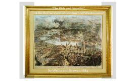 Copy of Bird's Eye View of London and Westminster