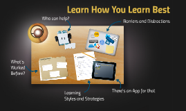 Learning How You Learn Best